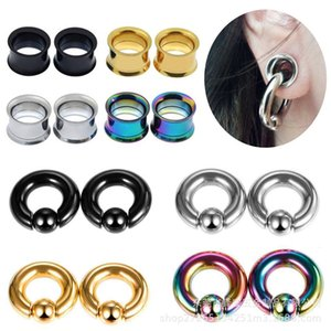 Clip ball spring ring double trumpet ear expanderVK31