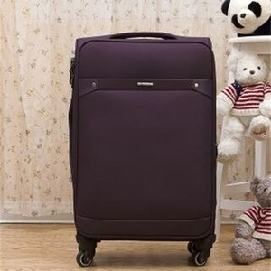 Oxford 24 Inch Luggage Business Travel Rolling Baggage Bags Spinner Suitcase Wheeled Trolley