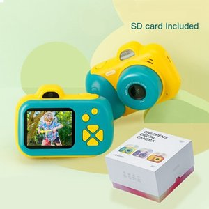 Kids Camera Toys 24MP Selfie Digital Photo Camera Children Educational Toy 12 Languages 16G Supported Birthday Gifts