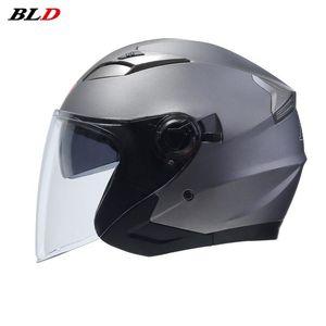 Motorcycle Helmets Open Face Double Lens Helmet Summer Riding Motocross Racing Motobike Electric Vehicles Bike Scooter Casco