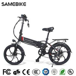 [Stock de l'UE] Samebike 20LVXD30-II Vélo électrique pliant 32km / h Smart Bicycle Smart Bicycle 48V 10.4Ah Batterie 20 pouces TIRE EBIKE Aucun impôt mis à jour