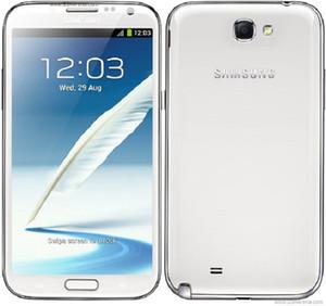 Remodelado Original Samsung Galaxy Nota II N7100 Nota 2 Quad Núcleo 2GB RAM 16GB ROM 5.5inch 1280 * 720 8MP desbloqueado 4G LTE Telefone