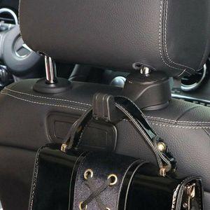 Hook Hanger Universal Car Seat Back Headrest Mobile Hang 2 Umbrella Bracket 1 Clothes Phone Handbags Groceries Hold Q3M4