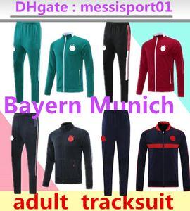 21/22 Bayern Futebol Tracksuit Munique Sobrevetimento Jaqueta de futebol 2021 2022 Vidal Lewandowski Muller