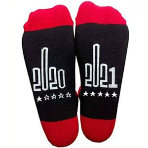 Tube Socks Male Personality Casual Mid Length Running England Sock Mens English Letter Pattern Socks Fashion Trend Sports Stretch Middle