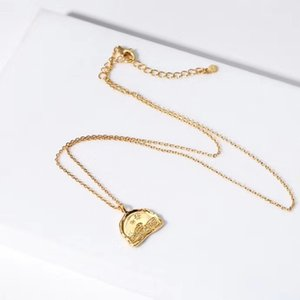 S925 silver Pendant necklace in 18k gold plated women party engagement jewelry gift free shipping PS3800