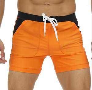 Swimwear Shorts Casual Sports Hombres Beach Trunks Loose Breathable Quick Dry Shorts Mens Clothing Summer Board