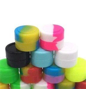 2 мл силиконовой не-палочкой контейнер DAB JAR для концентрата восковой масляный силиконовый контейнер 100 шт. 43 V2