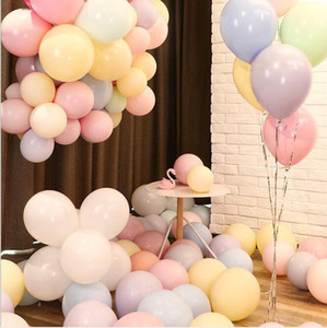 Balloons latex Colorful Balloon Baby Shower Wedding Birthday Party Balloons Festive Party Layout Decoration Balloon Decoration WMQ552