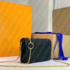 dicky0750 Shoulder bag for women Wholesale Handbags chain clutch crossbody bags lady Envelope classic fashion chains purse designer handbag cowhide simplicity