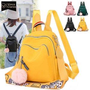 Small Women Backpack Mini Backpack Korean Fashion Bookbag High Quality Travel Oxford Back pack for Teenage Girl Mochila Feminina C0601