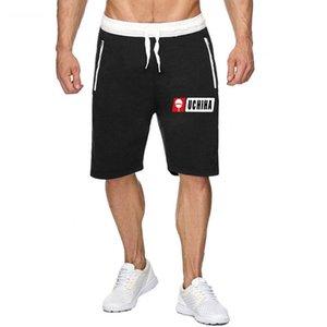 New printing UCHIHA Loose Sport Shorts Men Cool Summer Basketball Short Pants Hot Sale Sweatpants No belt10