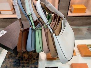 21s Moda Moda Bolso de alta calidad Damas diseñador Bolsas de hombro Bolsas de noche Multi Color