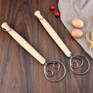 دانماركية العجين خفقت الفولاذ المقاوم للصدأ الهولندية الخبز العجين اليد خلاط المطبخ أدوات الخبز artisian خلاط JK2103KD