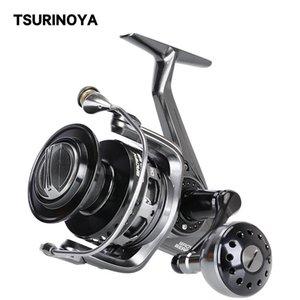 Tsurinoya Spinning Fishing Brown Brown Brown Bear 4000 5000 6000 7000 Full Metal Jigging Bobine haute vitesse Sel Trolling Fonction