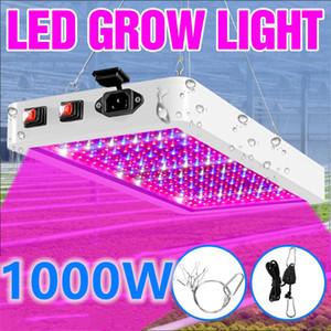 Plant Lamp Full Spectrum Grow LED Light 1000W 2000W Phyto Lamp Indoor LED Growing Flower Seedling Greenhouse Light US EU UK Plug