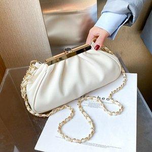 SWDF Borse a tracolla in pelle PU a catena SWDF per le donne 2021 borse a spalla di design Designer Borsa da donna in inverno borsa a mano