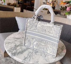 Вышивка 3D трехмерный тигр узор большой емкости роскошный большой бренд сумка сумка ручной работы двусторонний цветок