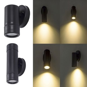 Outdoor Wall Lamp Lighting Aluminum Waterproof Mounted Column Lamps Are Suitable For Porches, Backyards And Terraces