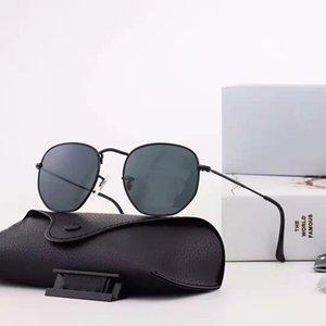 Мода поляризованные ультрафиолетовые солнцезащитные очки для человека повседневные нерегулярные металлические рамки синие вождения солнца знаменитые солнцезащитные очки