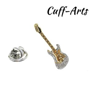 Brooch Bag Lapel Pin Badge Jewelry Gift Electric Guitar Shirt Suit Collar With Gift Box By Cuffarts P10132