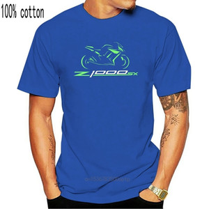 Foshion Mon T-shirt for Bike Kowosoki Z1000 Sx Motorcycle Z1000sx Funny Tee L0223