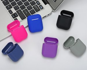 2021 Universal Silicone Earphone Case Cover for Pods Gen 1 2 Wireless Bluetooth Earphone Food Grade Silicone Protective Cases