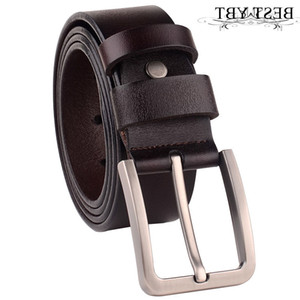 Best Ybt Men Imitation Leather Alloy Pin Buckle Cowboy Outdoor Sports Business Affairs High Quality Hot Selling Belt
