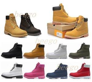 2021 homem de madeiraBotas Designer Mens Mulheres Sapatos Top Quality Top Tickle Inverno Boot para Cowboy Amarelo Azul Preto Pink Caminhadas Trabalho 36-46 11r #