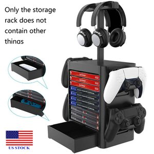 Multifunctional Storage Stand Kit for PS5 Games Holder Tower Game Disc C0052 US STCOK