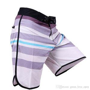 Swim Trunks Summer Men's Spandex Boardshorts Quick Dry Board Shorts Bermuda Surf Beach Swimwear Short Homme New Phantom