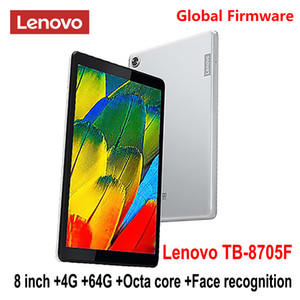 Lenovo Tablet M8 SmartTablet TB 8705F N 8 inch 3G  4G RAM 32G  64G ROM Octa Core WiFi  LTE 5100mAh Face Recognition FHD Dolby