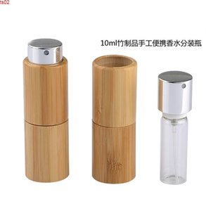 10ML Empty Cosmetic Bamboo Containers, Makeup Beauty Atomizer Vials, Perfume Sprayer Nozzle Bottle, Portable Scent Bottlehigh qualtit