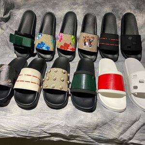 Le pantofole eleganti di alta qualità tigri moda classici di moda sandali sandali da uomo scarpe da donna tigre gatto design estate Huaraches Home011 2