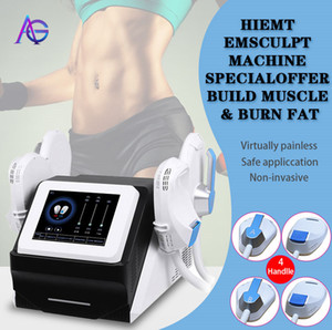 EMSLIM HI-EMT Machine Burning Faturation de la graisse Hiemt EMS Stimulateur de muscle Stimulateur électromagnétique corps et bras Equipement de beauté logo gratuit