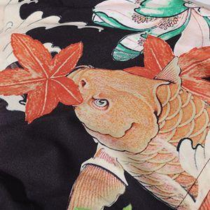 Aelfric 2021 New Eden Hawaii Beach Shirts Men Oversized Fish Printed Harajuku Short Sleeve Tees Summer Streetwear Shirt Casual Tops 1NC6