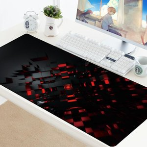 Mouse Pads & Wrist Rests Carpet Pad Extended Large Gaming Mousepad Keyboard Lockable Washable Rubber Padmouse Gamer Big Play Boy Gift HD Mat