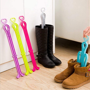 Boot Shaper Folding Boot Stands Adjustable Shoe Trees for Tall Boots Shoes Insert Tall Support for Women & Men Boot Storage Organizer Closet