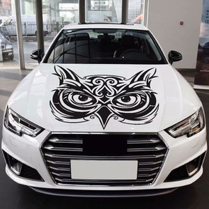 Eagle Head Cover Hood Car Decal Side Door Body Sticker