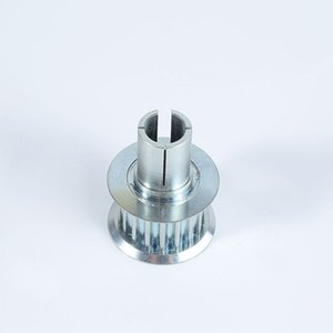 Customized synchronous pulley Gears aluminum alloy machining motor running without noise