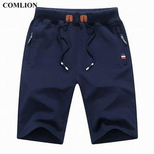 Comlion Nuovo Arrivo Uomo Pantaloncini Estate Brand Brand Casual Shorts Mens Cotton Homme Elegante Casual Beach Shorts Maschile Pantaloni corti maschili Plus 1A 210305