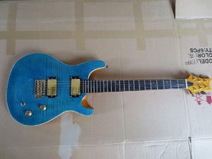 Guitar New Arrival Custom 24 Electric Guitar Teal Blue guitar factory