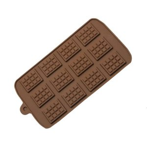 Dining Silicone Mold Chocolate Mold Fondant Molds DIY Candy Bar Mould Cake Decoration Tools Kitchen Baking Accessories BWB5112
