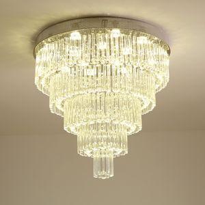 Multi Layer Moderne Kronleuchter Kristalllampe AC110V 220V Cristal LED Deckenvorrichtungen Wohnzimmer Schlafzimmer Kronleuchter