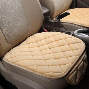 Autositzbezüge Universal Sitzkissen Pad Matte Protector Automobile Innenabdeckungen Autozubehör Einzelstück Rosa