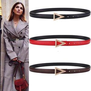 belt decorative V-belt women's leather slim waist with jacket, suit, skirt and pants