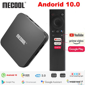 MECOOL KM9 Pro Google Certified Androidtv Android 10.0 2GB 16GB Amlogic S905X2 Smart TV box