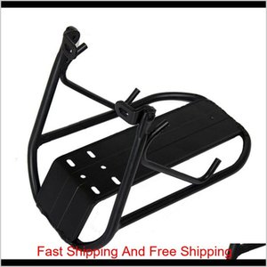 Cycling Mountain Bike Aluminum Alloy Front Rack Bracket Bicycle Carrier Pannier Racks For Mtb Ro qylvxd pingtoy