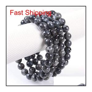 8mm Fashion Brand Luxury Natural Stone Healing Crystal Stretch Beaded Bracelet Women Men Handmade Precious Gemston qylHBT luckyhat