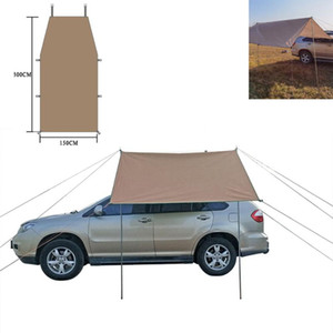 Car Side Awning Waterproof Rooftop Car Sun Shelter Tent Roof for SUV Minivan HatCHbaCk CamPing Outdoor Travel
